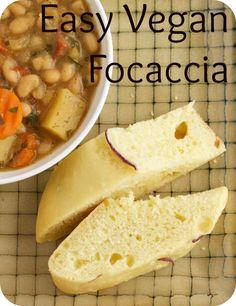 Easy Vegan Focaccia
