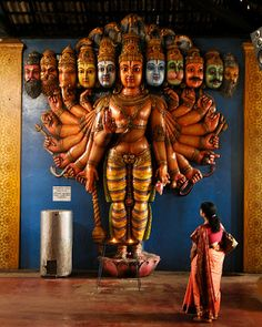 #64 Munneswaram Temple in Chilaw, Sri Lanka - This Hindu temple, which has been in existence at least since 1000 CE, has been associated with the popular Indian epic Ramayana, and its legendary hero-king Rama (wikipedia)