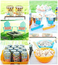 Summer Party Idea: Root Beer Float Ice Cream Social #IceCreamFloat #Shop #cbias