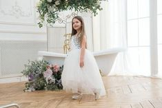Birthday Girl Dress, Birthday Dresses, Toddler Flower Girl Dresses, Baby Dress, European Dress, White Bridesmaid Dresses, Gowns For Girls, Fancy Dress Up, Dress Up Costumes