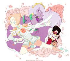 Revolutionary Girl Utena crossover with Steven Universe