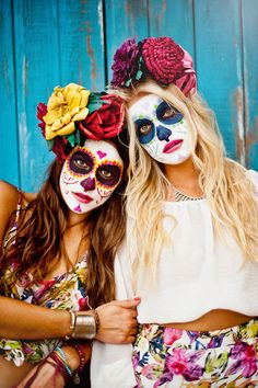 Dia Los Muertos Maquillajes