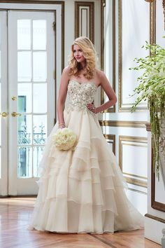 A look at Justin Alexander's brand-new collection plus a dream gown #giveaway!