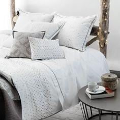 Parure de lit CARNAC - Parures de lit fantaisie - CARRE BLANC