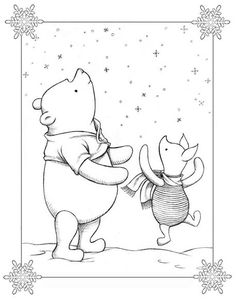 I think this would make a great tattoo for a pooh fan. Drawing is done by http://www.jgoliverstudio.com/product.html#thumb