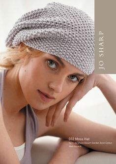 Moss Stitch Beanie- I love the polished yet relaxed look of this hat so much I'm knitting it for the 5th time...