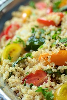 Ratatouille, Quinoa and Quinoa salad on Pinterest