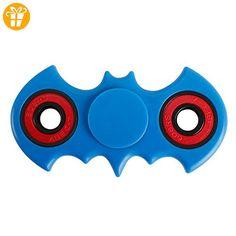 Fidget Toys Hand Spinner Finger Spielzeug für Kinder und Erwachsene Spielzeug Geschenke (Bat blue) - Fidget spinner (*Partner-Link)