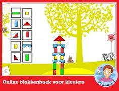 Online rohové bloky pre batoľatá, počítať s tabuľou alebo počítačom kleuteridee.nl