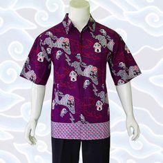 baju batik pria ungu KP15 selengkapnya di http   sekarbatik.com baju dfed417ce1