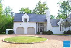 Town House back to portfolio Garage Exterior, Garage Door Design, Stucco Exterior, Garage Doors, Exterior Colors, Exterior Paint, Paint Colors For Home, House Colors, Bill Ingram