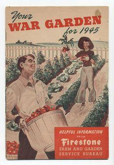 """Your War Garden for 1945"" victory garden poster"