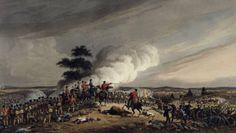 Die Faszination der großen Niederlage: Die Schlacht bei Waterloo am 18. Juni 1815. Anonyme Aquatinta (London 1816)
