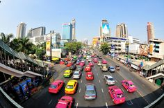 Bangkok Traffic puzzle in Street View jigsaw puzzles on TheJigsawPuzzles.com. Play full screen, enjoy Puzzle of the Day and thousands more.
