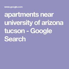 apartments near university of arizona tucson - Google Search