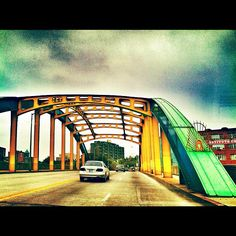 Howard Street Bridge // Baltimore, Maryland  By Rachel Lipton
