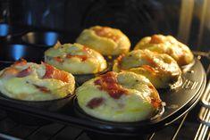 Äggmuffins med bacon – Johannas LCHF Keto Recipes, Cake Recipes, Healthy Recipes, Healthy Food, Cookies Policy, Lchf, Omelette, Bacon, Delish