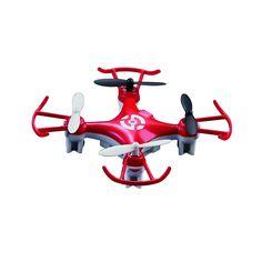 SEAICH Nano 2.4G 4-CH RC Quadcopter Drone with Headless Mode X6