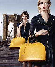Louis Vuitton Alma Bag Spring/Summer 2013 Campaign