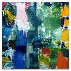 """Trademark Global Color Relationships IV by Michelle Calkins, Canvas Art - 24"""" x 24"""""""