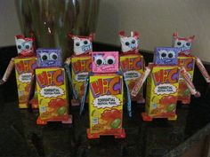 Hi-C & candy robots for Valentine's Day