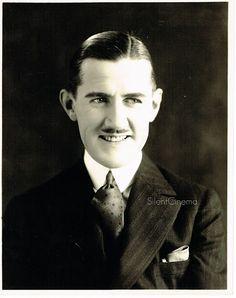 CHARLEY CHASE Vintage Original Hal Roach Studios Portrait Publicity Photo