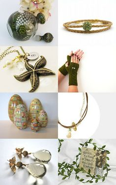 Green Spring by Jeanne on Etsy--Pinned with TreasuryPin.com