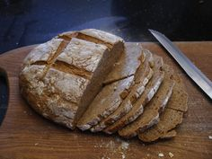 In a moment of enthusiasm a while ago I bought a bag of rye flour but then I had no idea what to do with it as I was pretty sure it wasn't as simple as chucking it in the bread maker instead …