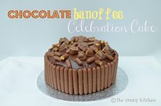 Chocolate banoffee cake - simple and easy