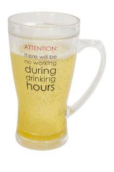 Attention 14 oz. Beer Mug on HauteLook