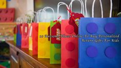 Buy Personalised Return Gifts Kids India For Birthday Lego