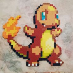 Amazing one by brad_skillz #supernintendo #microhobbit (o) http://ift.tt/2fMCK8b from Pokémon. Did this for my friend @spacieee because she asked nicely (note: begged profusely and threatened me repeatedly (note: kidding)). #perlerbeads #perler #beads #pixels #beadart #pixelart #pokemon #charmander #firstgen #nintendo  #gameboy #8bit #16bit