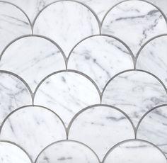 Academy Tiles - Stone Mosaic - Pavone Fan - 73696