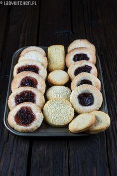 Kruche ciasteczka - LADY KITCHEN kruche maślane ciasteczka Bread, Food, Brot, Essen, Baking, Meals, Breads, Buns, Yemek