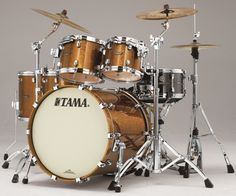 #Tama Starclassic Maple #Drums : Gold Rush Sparkle