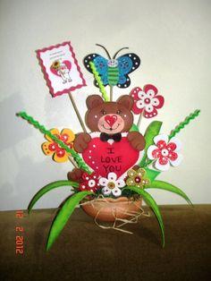 1000 images about manualidades on pinterest molde - Decoraciones para san valentin ...