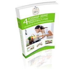 Vind je het ook zo lastig om steeds te bedenken wat je kan eten tijdens het FODMAP dieet? Dat is nu niet meer nodig: wij hebben 28 FODMAP arme dagmenu's voor jou! 54 pagina's vol met FODMAP arme menu's en recepten!