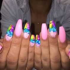Tye dye nails @kathina_tha_female_king