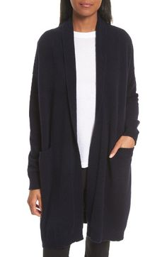 Free shipping and returns on Vince Long Cashmere Cardigan at Nordstrom.com. Wrap yourself in a long layer of sumptuously soft cashmere knit via this cover-everything cardigan with drop-shoulder slouch.