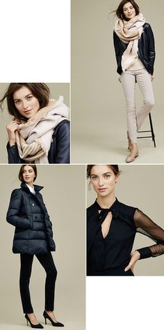 I am happy to report that  Ann Taylor has been looking really good of late.  I just checked out their new looks and found lots of pieces that spoke to me.  Specifically the puffer pea coat, blanket…