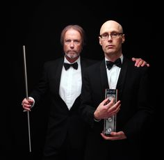 """Steve Kilbey & Martin Kennedy. Photo by Dean Jones. """"Lush, affecting, and ethereal sonic panoramas"""" – Prefix mag"""