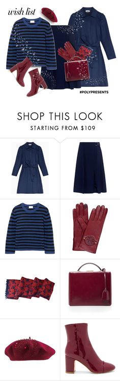 """""""On my wish list: blue & red"""" by muse-charming ❤ liked on Polyvore featuring Trilogy, Max&Co., Carven, Allude, Tory Burch, Vivienne Westwood, Mark Cross, Helen Kaminski and Polly Plume"""