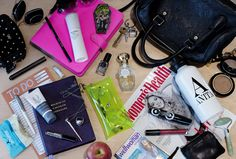 What's In My Handbag (WIMH)- Find out what beauty products professionals use, tell others what you have and want. Free samples too!