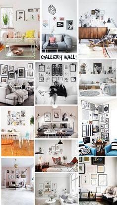 Jag tycker det är så fintmed väggar fulla med tavlor och på min Pinterest har jag pinnatmassa bilder på härliga, perfekt stylade vardagsrum med fint koordinerade tavelväggar. Hittills har vi i vå...