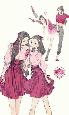 """Qixiu (Seven Beauties) from """"Yi Chui Wu Yue Tiao Man Ji"""" by Ibuki Satsuki 伊吹五月 Character Drawing, Character Concept, Concept Art, Art Sketches, Art Drawings, Kawaii, Wow Art, Pretty Art, Character Design Inspiration"""