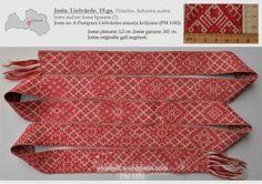 Josta. Lielvārde. 19. gs. (A.Pumpura Lielvārdes muzeja krājums. Uzskaites numurs PM 1182)
