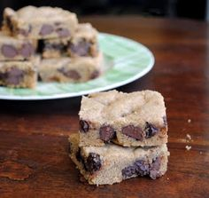 Leanne bakes: Chocolate Chip Cookie Bars