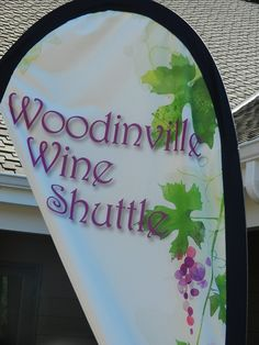 they have a wine shuttle that goes from winery to winery.  How cool is that.
