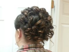 Updo by Afton