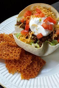3 Ways to make Low Carb Taco Salad